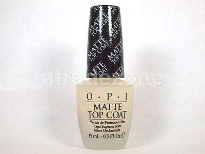 - OPI Nail Polish Lacquer Treatment Matte Top Coat NT T35 15 mL 0.5 oz