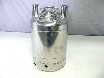 Alloy Products 316l Stainless Steel 10 Liter Pressure Vessel Tank 155 Psi