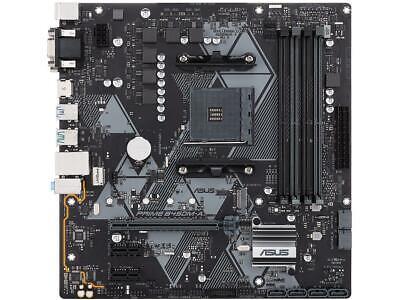 ASUS PRIME B450M-A/CSM AM4 AMD B450 SATA 6Gb/s USB 3.1 HDMI Micro ATX AMD Mother