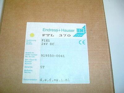 ENDRESS HAUSER ......FTL 370 F1E1............  PART 919550-0041 24VDC  NEW BOXED