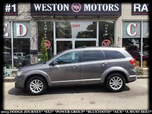 2013 Dodge Journey SXT*PWR GRP*BTOOTH*AUX*A MUST SEE!!*