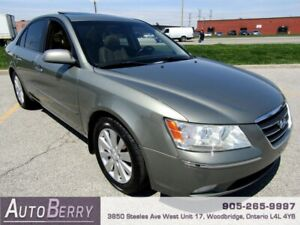 2009 Hyundai Sonata Limited ***CERTIFIED ACCIDENT FREE*** $4,999
