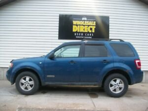 2008 Ford Escape 4WD - POWER DRIVER SEAT - FOG LIGHTS - CRUISE -
