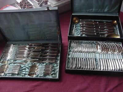 Koch & Bergfeld Modell 64800 Silberbesteck 800 Silber 12 Personen 78 teilig