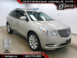 2014 Buick Enclave Premium AWD, HEATED/COOLED LEATHER, COLOUR...