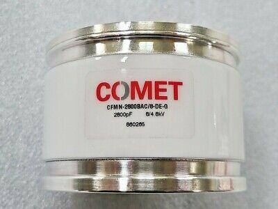 Comet Vacuum Capacitor Cfmn-2800bac8-de-g 2800pf 84.8kv