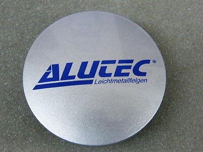 Original ALUTEC Nabenkappen N23 silber blau für Alufelgen Nabendeckel N 23