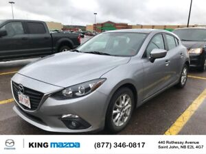 2014 Mazda 3 GS-SKY Auto..Power Roof..Heated Seats..Bluetooth...