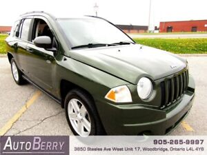 2009 Jeep Compass Sport 4WD ***CERTIFIED ACCIDENT FREE*** $6,999