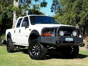 2003 Ford F250 XLT White 4 Speed Automatic Utility
