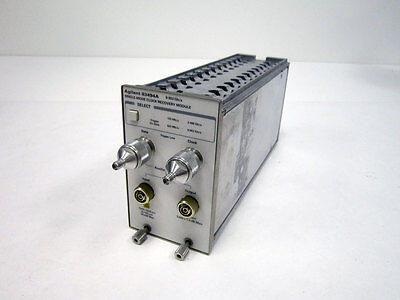 Agilent Hp 83494a 10 Gbs Single-mode Clock Recovery Plug-in Module