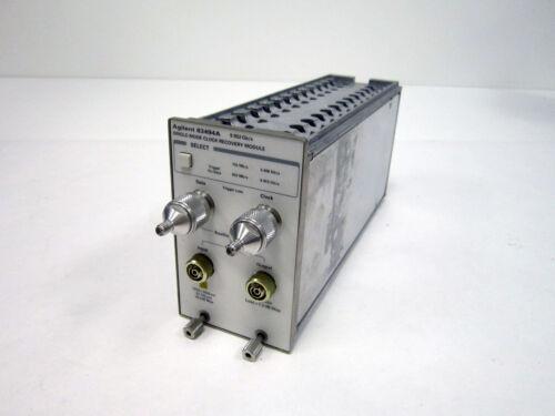 AGILENT HP 83494A 10 GB/S SINGLE-MODE CLOCK RECOVERY PLUG-IN MODULE