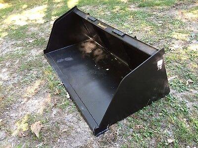 New 84 Skid Steertractor Snowmulch 7 Bucket - For Bobcat Case Cat More