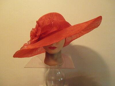 Легкие накидки для Hat- RED Sinamay