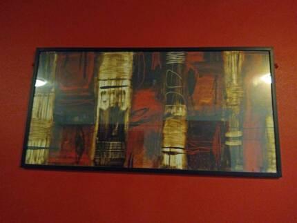 Large red/orange print