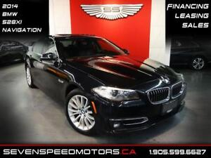 2014 BMW 5 Series 528XI  ACCIDENT FREE| REV CAM | NAVI | FINANCE