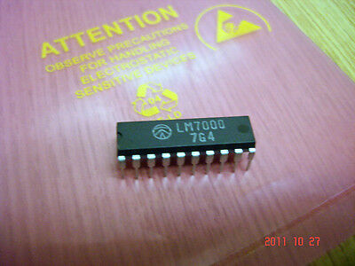 LM7000                                       Direct PLL electronic tuning system