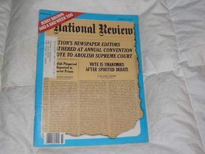 National Review Magazine   August 17 1979   Raoul Wallenberg Holocaust Hero