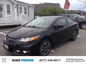 2014 Honda Civic Coupe EX- $130 B/W LOW KMS..AUTO..SUNROOF..ALLO