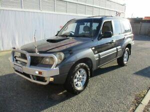 2005 Hyundai Terracan HP MY05 Black 4 Speed Automatic Wagon