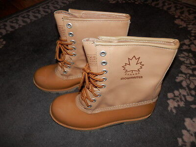 Snowmaster Steel Shank Boots Men's Size 7 Safety Footwear -- Made in Canada for sale  Belleville