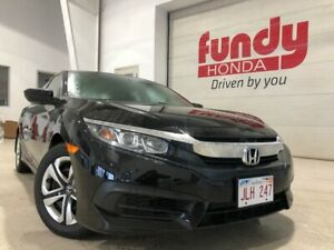 2017 Honda Civic Sedan LX w/heated front seats, backup cam, ONE