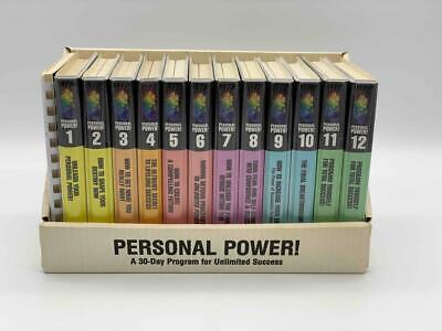 Anthony Robbins Personal Power Cassette Set 30 Day Program for Success