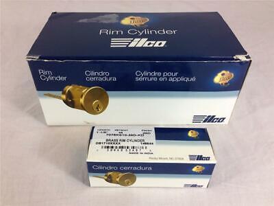 New 10 Kaba Ilco Brass Rim Cylinder 7075ks10-26d-kd Keyway Ks 1 18