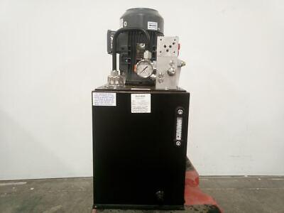 Monarch T92c405c93f0-01 5 Hp 1800 Rpm 208-230460vac 15 Gal Hydraulic Power Unit