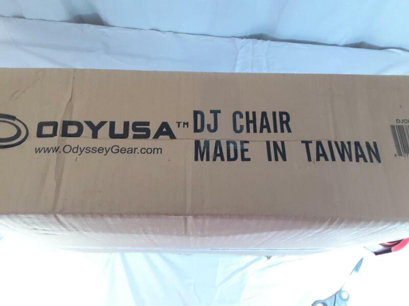 Odyssey Chair For DJ New In Box!  Black