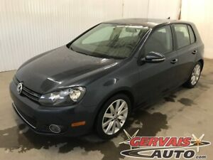 2013 Volkswagen Golf TDI Highline GPS Cuir Toit Ouvrant MAGS