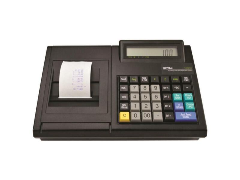 Royal 100CX Portable Cash Register