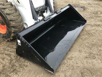 New Tomahawk 84 Gp Smooth Bucket For Skid Steer Loaders Ssl Quick Attach