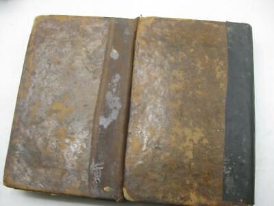 1857 Chernivtsi Chernovitz Printing COMPLETE 2 VOL SET ALSHECH ON TORAH תורת משה