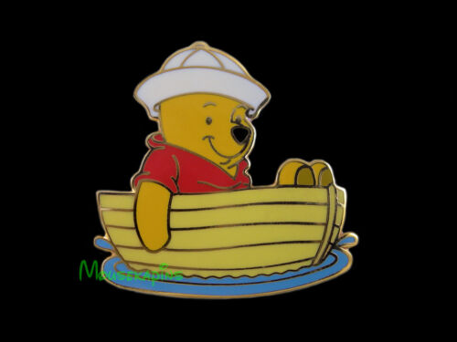 SAILOR Winnie the POOH in His BOAT Disney Tokyo 2001 Pin