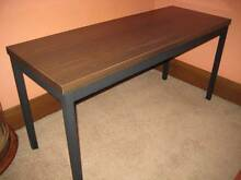 Steel framed timber table Heathcote Sutherland Area Preview