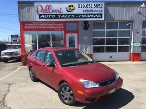 2005 Ford Focus SES ZX4 LEATHER+SUNROOF