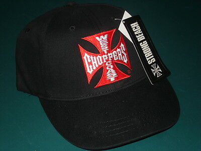 New West Coast Chopper Wcc Chopper Baseball Hat Cap Nwt Very Nice Quality