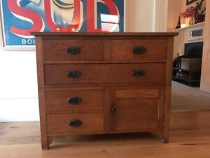 Chest of draws antique hardwood Moonee Ponds Moonee Valley Preview