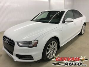 2015 Audi A4 Progressiv S Line AWD GPS Cuir Toit Ouvrant MAGS