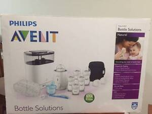 Philips Avent Natural Bottle Solutions Set (Pick-up only) North Strathfield Canada Bay Area Preview