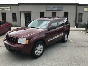 2008 Jeep Grand Cherokee Laredo,LEATHER,SUNROOF,CERTIFIED!