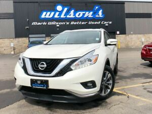 2017 Nissan Murano SL AWD - Leather, Navigation, Sunroof, Blind