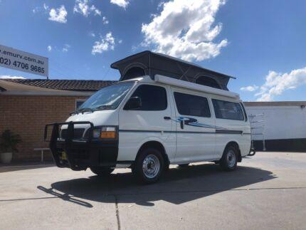 Toyota Hiace Frontline Campervan. Automatic. Penrith Penrith Area Preview