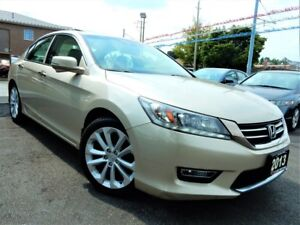 2013 Honda Accord V6 TOURING | NAVI.CAMERA.BSM | LEATHER.ROOF