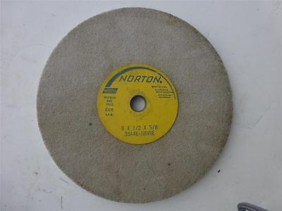 Norton Grinding Wheel 8 X 12 X 58 Model 38a46-hbvbe