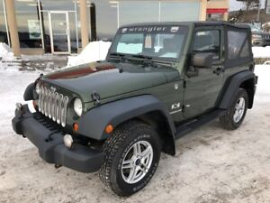 2008 Jeep Wrangler X * CUIR, MAGS, SEULEMENT 110 049 KM, MANUELL