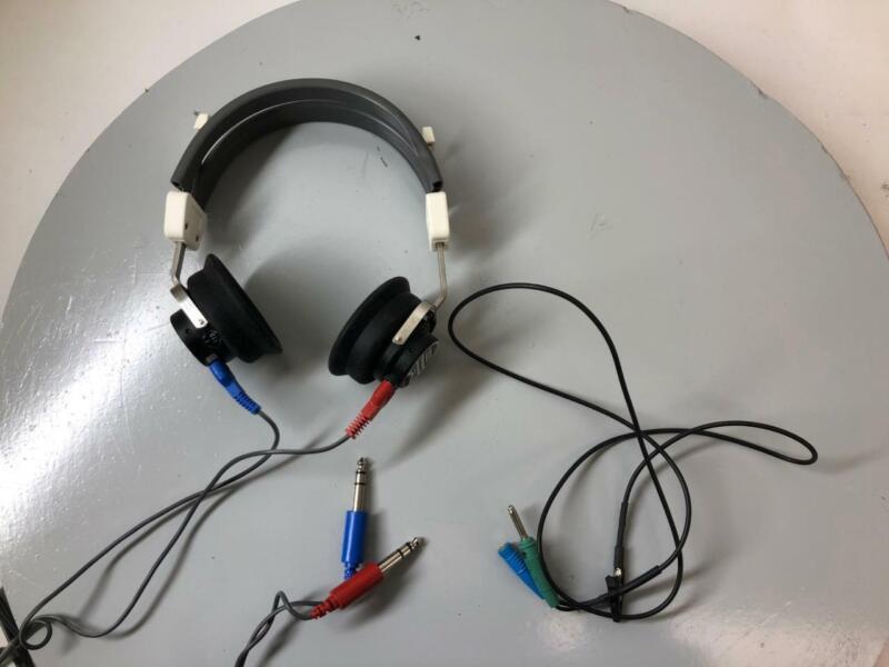 Telex Telephonics Audiometric Audiometer Headphones TDH-39P