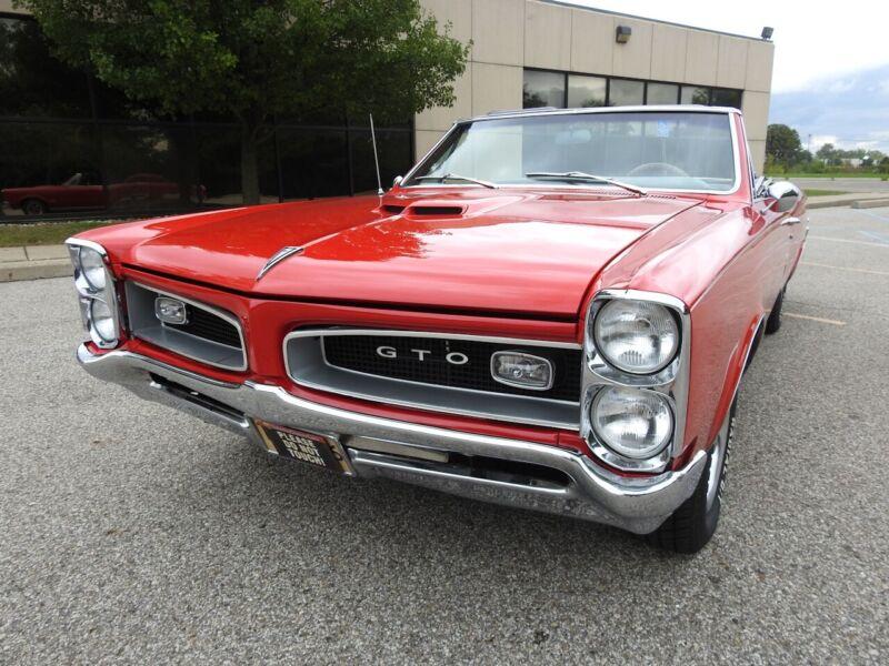 Image 7 Voiture Américaine de collection Pontiac GTO 1966