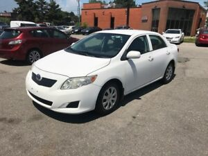 2010 Toyota Corolla 5spd,NO ACCIDENT,$4388,SAFETY+3YERS WARANTY
